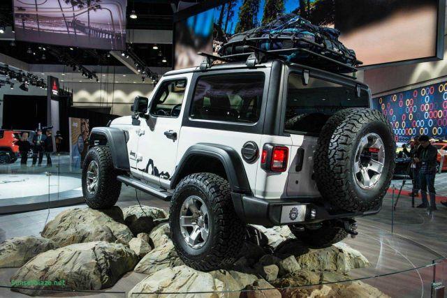 2020 Jeep Wrangler concept rear