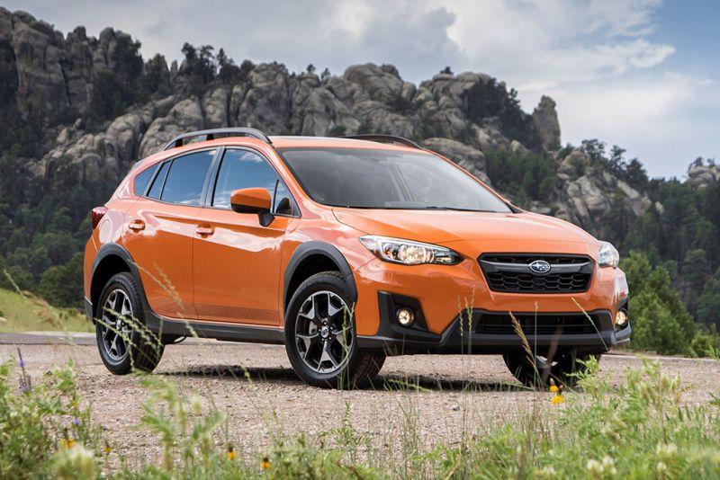 2020 Subaru Crosstrek front