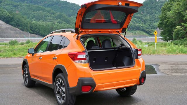 2020 Subaru Crosstrek rear