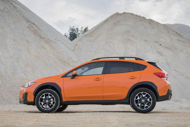 2020 Subaru Crosstrek side