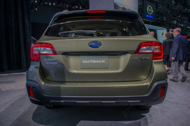 2020 Subaru Outback rear