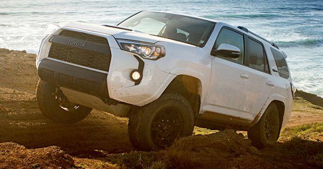 2020 Toyota 4Runner side