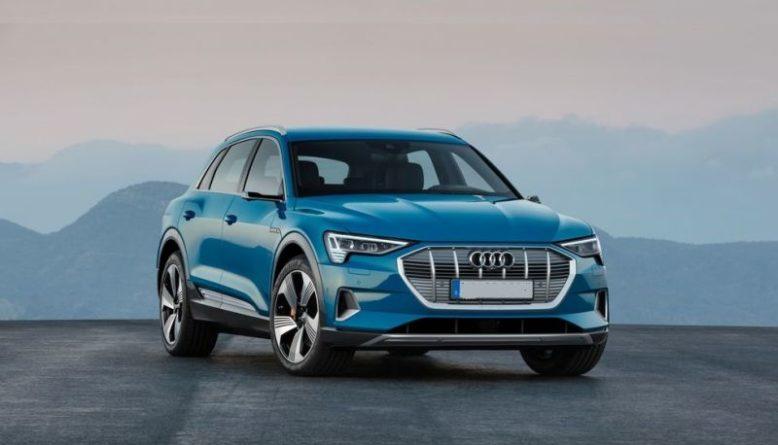 2019 Audi E-Tron front