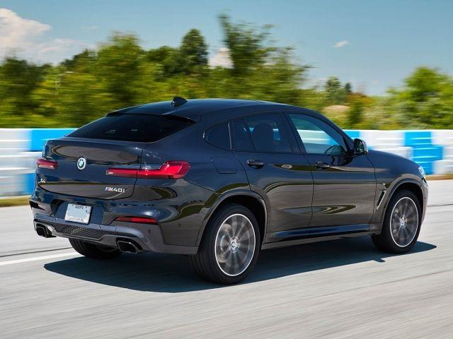 2019 BMW X4 side