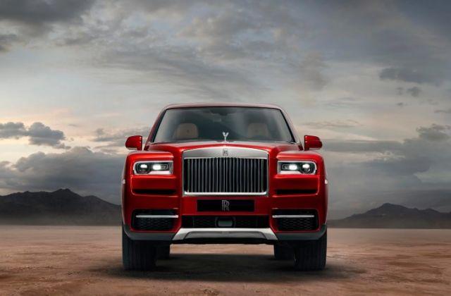 2019 Rolls-Royce Cullinan front