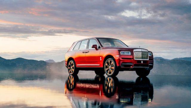 2019 Rolls-Royce Cullinan side