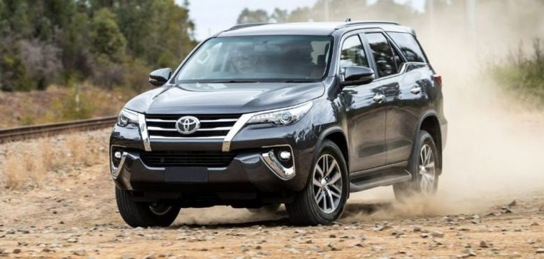 2019 Toyota Fortuner sits on the same platform as the ...