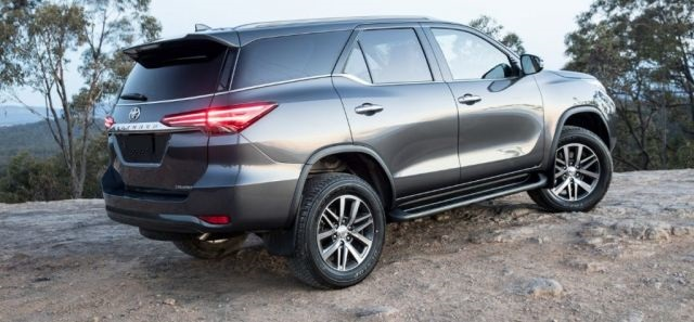 2019 Toyota Fortuner rear