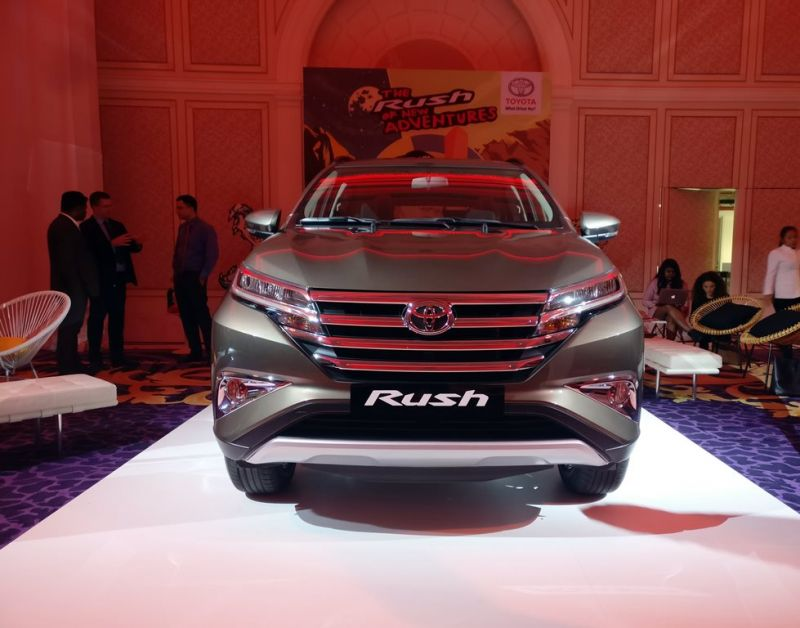 2019 Toyota Rush is inspired by its bigger and older ...