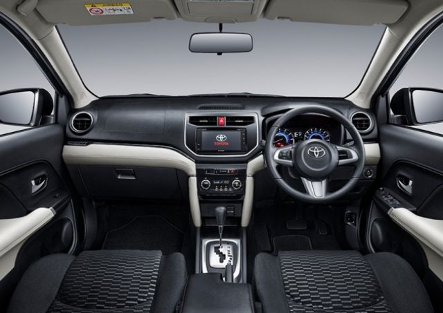 2019 Toyota Rush interior