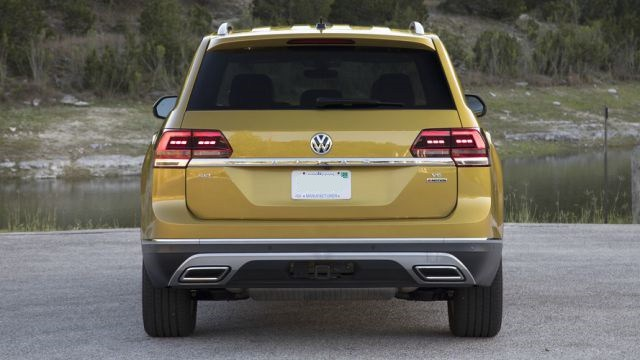 2019 VW Atlas rear