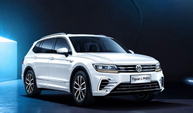 2019 VW Tiguan Phev