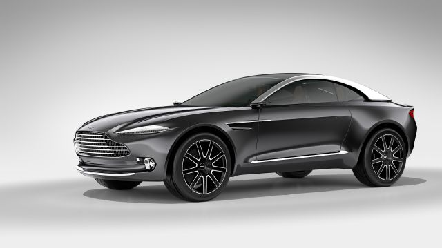 2020 Aston Martin DBX side