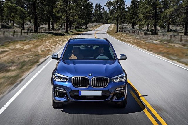 2020 BMW X3 front