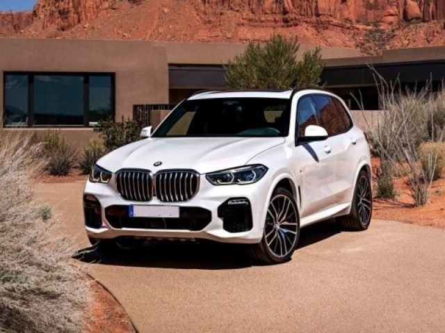 2020 BMW X5 front