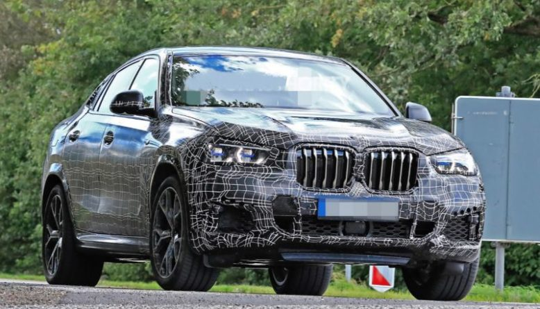 2020 Bmw X6 Spied Testing M Package 2019 2020 New Suv