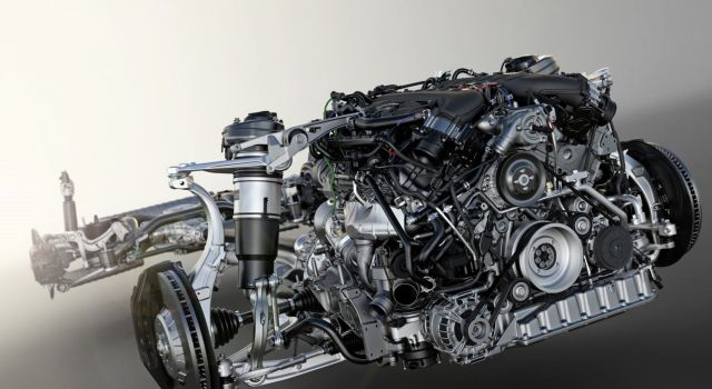 2020 Bentley Bentayga engine