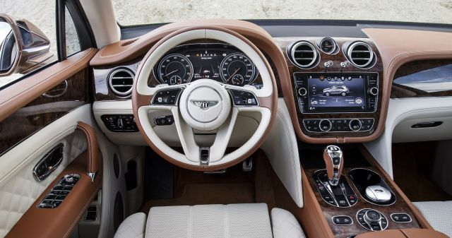 2020 Bentley Bentayga interior