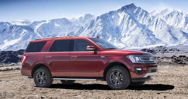 2020 Ford Expedition side