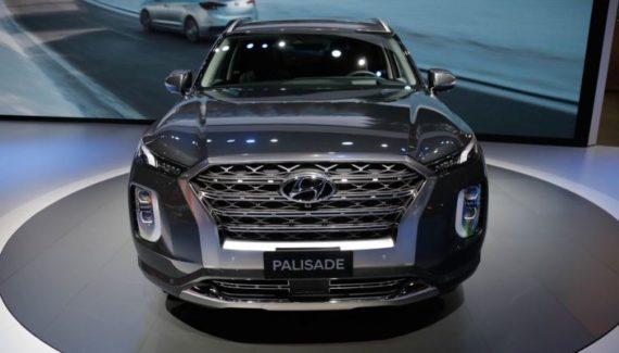 2020 Hyundai Palisade front