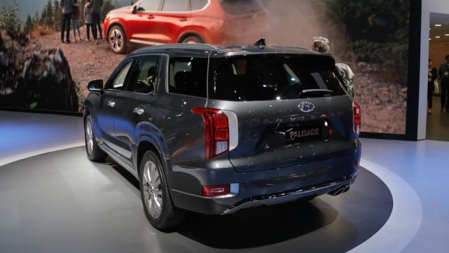 2020 Hyundai Palisade rear