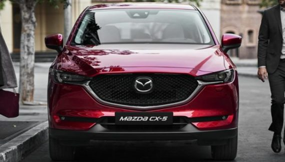 2020 Mazda CX-5 front look