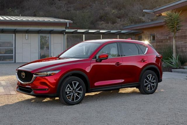 2020 Mazda CX-5 side