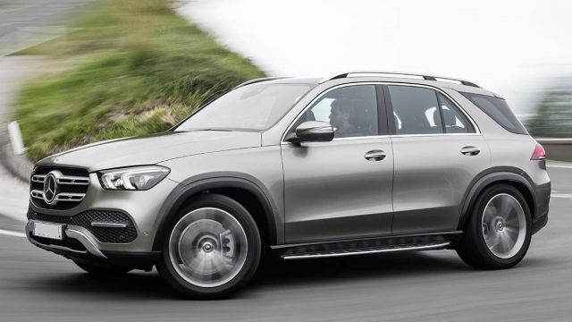 2020 Mercedes-Benz GLE front