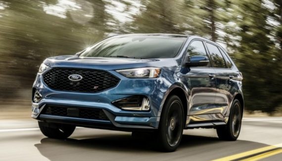2020 Ford Edge front