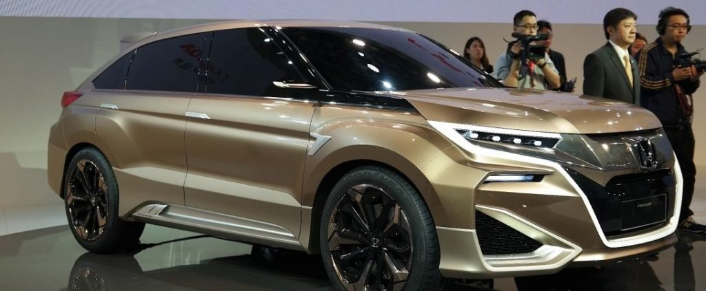 2020 Honda Crosstour front