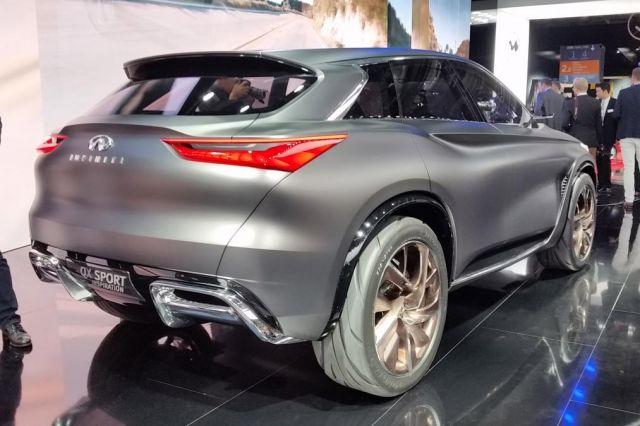 2020 Infiniti QX50 rear