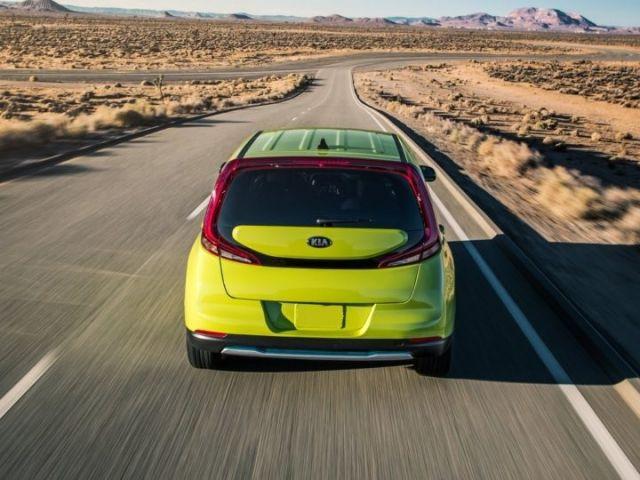 2020 Kia Soul EV rear