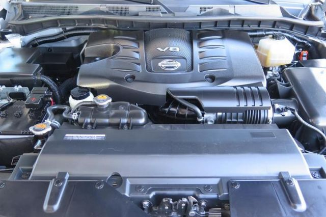 2020 Nissan Armada engine