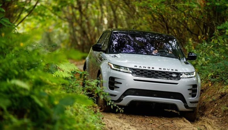 2020 Range Rover Evoque front