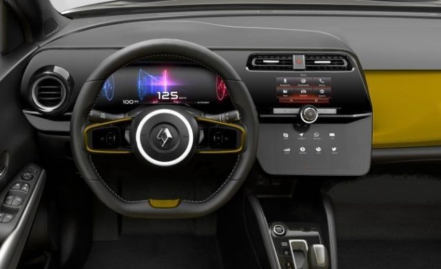2020 Renault Captur interior look
