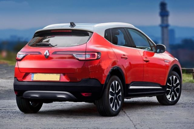 2020 Renault Captur rear end