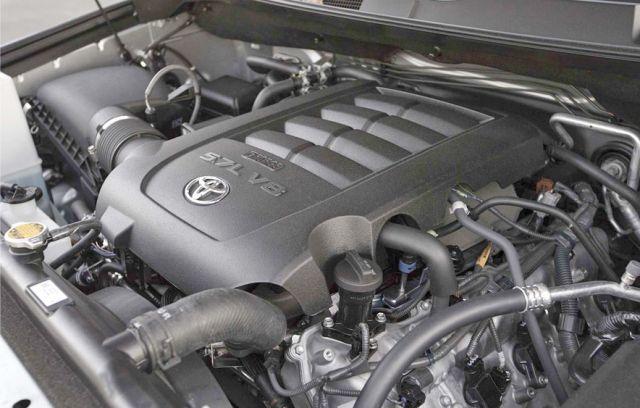 2020 Toyota Sequoia engine