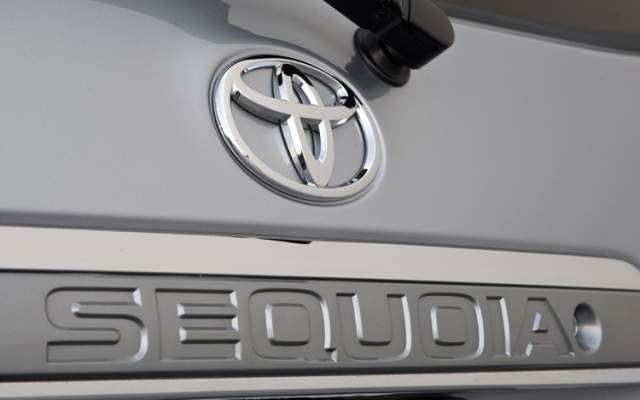 2020 Toyota Sequoia rear