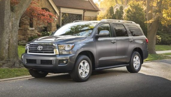 2020 Toyota Sequoia side