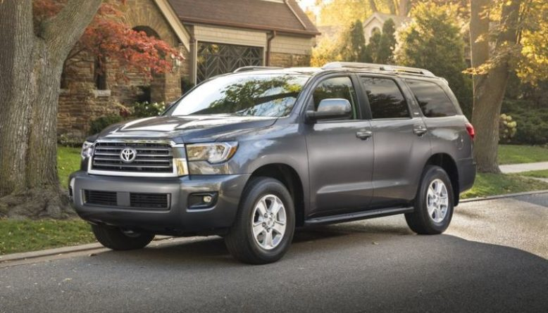 First Look 2020 Toyota Sequoia Redesign Platinum 2020 2021 New Suv