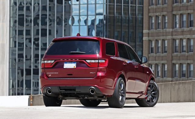 2021 Dodge Durango rear
