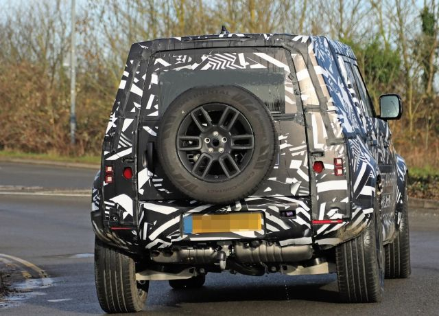 2021 Land Rover Defender rear view