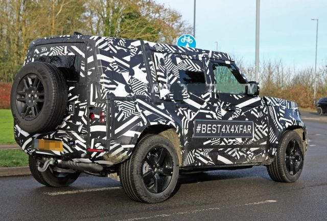 2021 Land Rover Defender rear