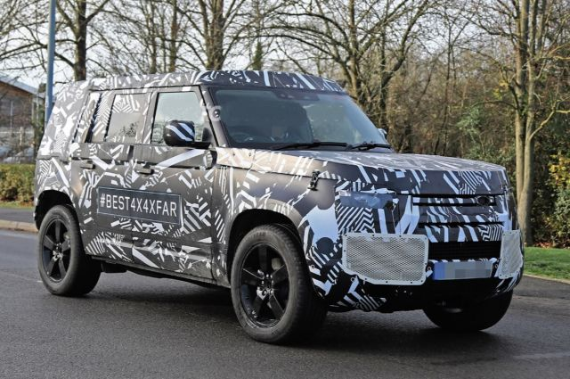 2021 Land Rover Defender side
