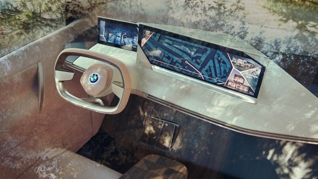 BMW Vision iNext Concept view