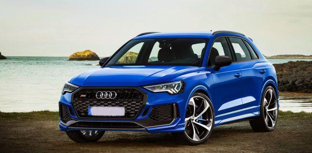 2020 Audi Q3 RS front