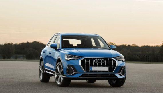 2020 Audi Q3 front