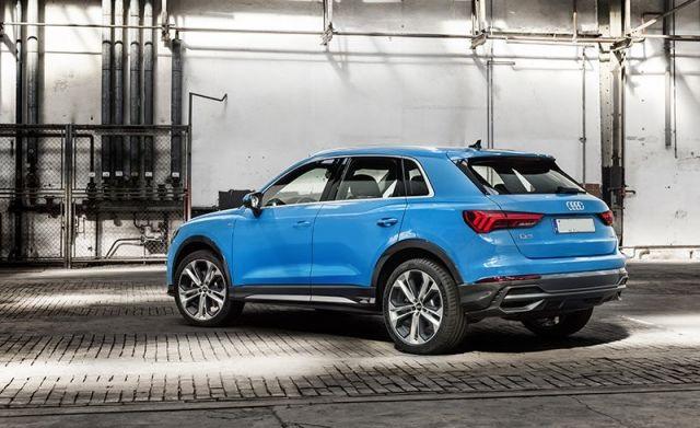 2020 Audi Q3 side look