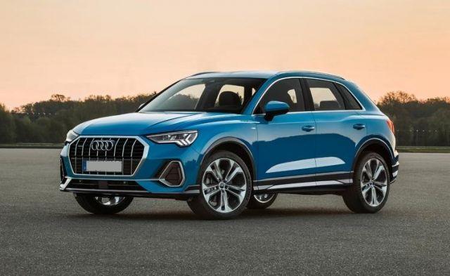 2020 Audi Q3 side