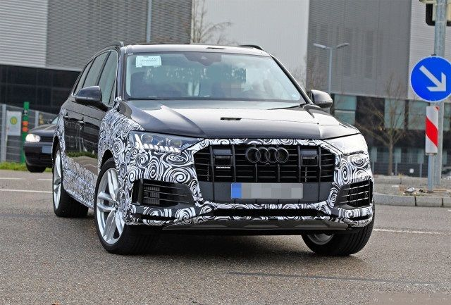 2021 Audi Q7 Spy Shots, Release Date, Specs, Price >> Facelifted 2020 Audi Q7 Spotted Testing 2020 2021 New Suv
